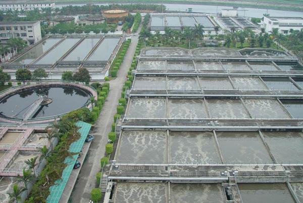 滨河污水处理厂